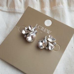J. Crew (nwt) rhinestone earrings